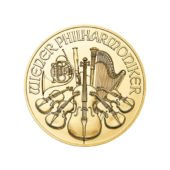 2017 Austrian Philharmonic 1oz Gold Coin