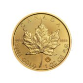 2017 Canadian Maple 1oz Gold Coin er