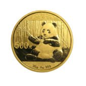 2017 Chinese Panda 30g Gold Coin3