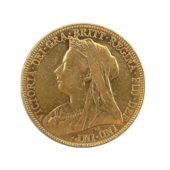 Pre-Owned-1901-Perth-Mint-Victoria-Veiled-Head-Full-Sovereign-Gold-Coin