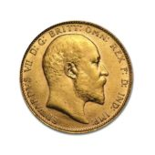 Pre-Owned-1906-Perth-Mint-Edward-VII-Full-Sovereign-Gold-Coin