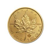 Canadian Maple 1oz Gold Coin - Mixed Dates2