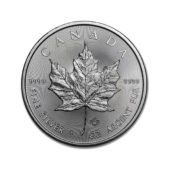 Canadian Maple 1oz Silver Coin 2