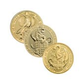 Queen's Beasts 1oz Gold Coin - Mixed Designs1
