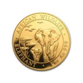 Somalian Elephant 1oz Gold Coin - Mixed Dates 4
