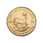 South Africa Krugerrand 110oz Gold Coin - Mixed Dates 2