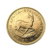 South African 1 Rand Gold Coin - Mixed Dates 2