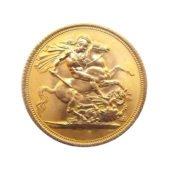 UK Half Sovereign Gold Coin - Mixed Dates2